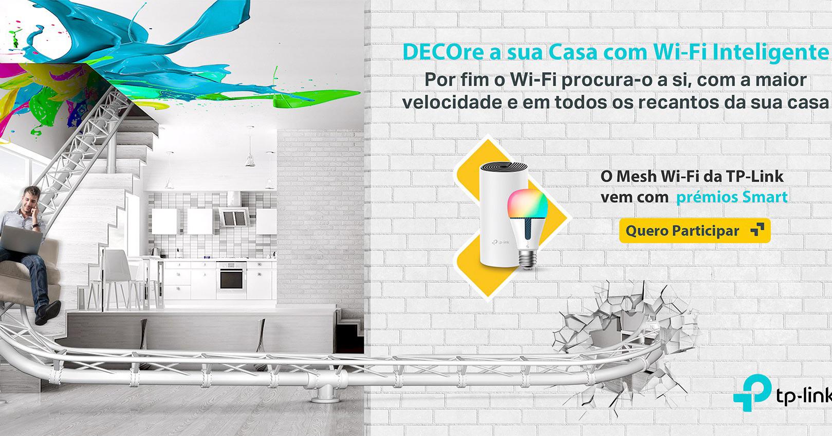 """TP-Link anuncia campanha """"DECOre a sua casa com Wi-Fi inteligente"""""""