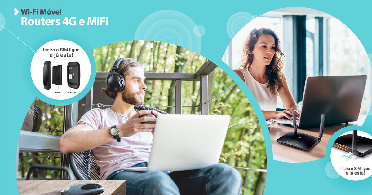 Leve a rede Wi-Fi de férias consigo