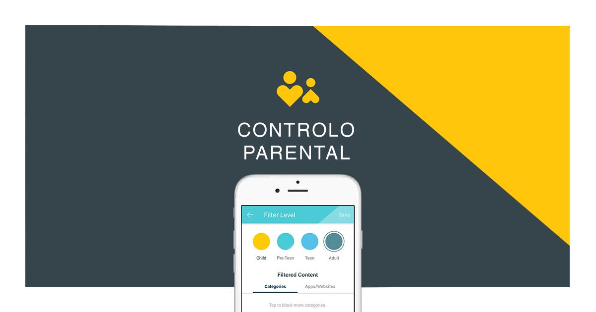 Controlo Parental: Um Guardião Online para Crianças