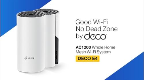 Sistema de Wi-fi Completo Deco E4
