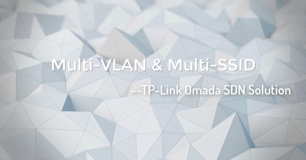 Vídeos Omada: configurar várias redes e SSIDs
